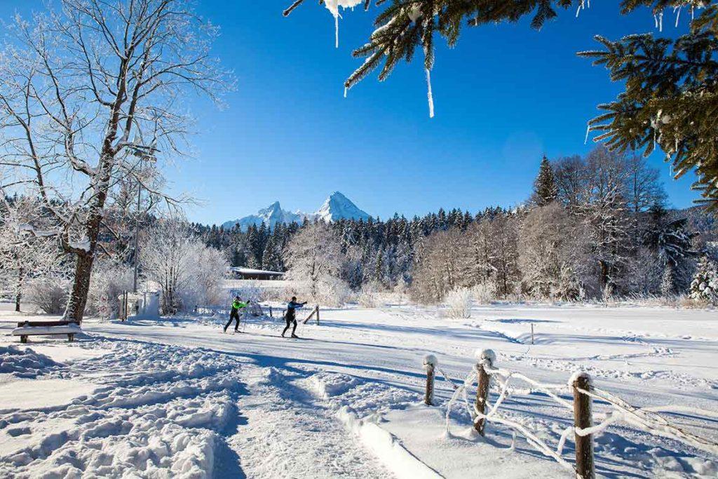Winter_Langlaufen_Berchtesgaden
